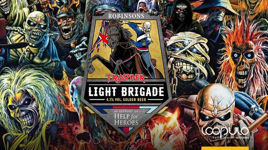 Light Brigade, la nueva cerveza de Iron Maiden
