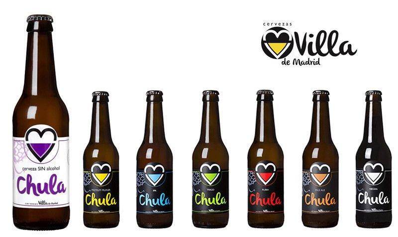 Cervezas sin alcohol artesanales. Chula Sin. Loopulo.