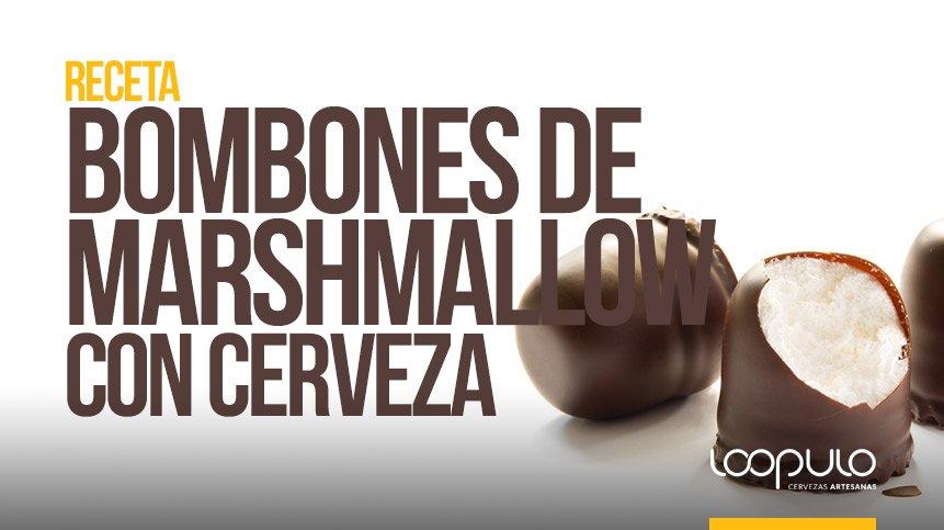 Receta de Bombones de Marshmallow con cerveza – Loopulo