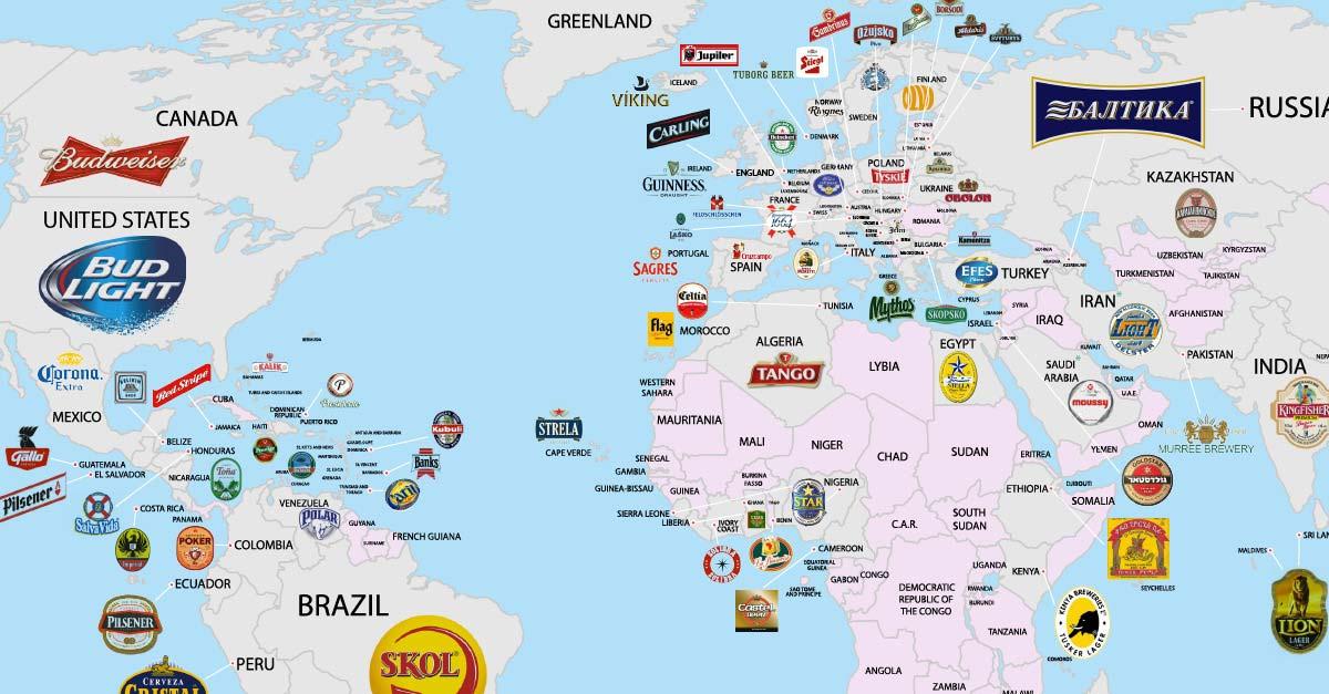 La cerveza más vendida en España – Loopulo