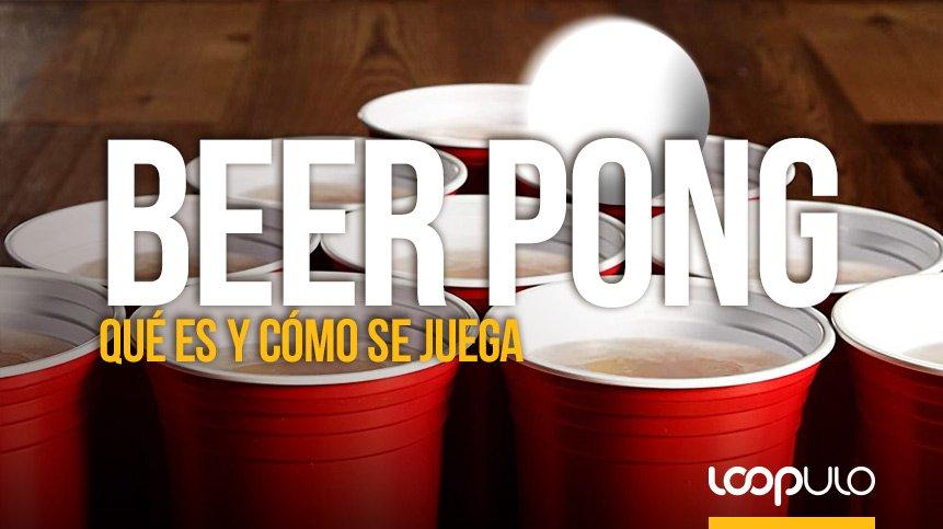 BEER PONG, qué es y cómo jugar a este juego cervecero – Loopulo