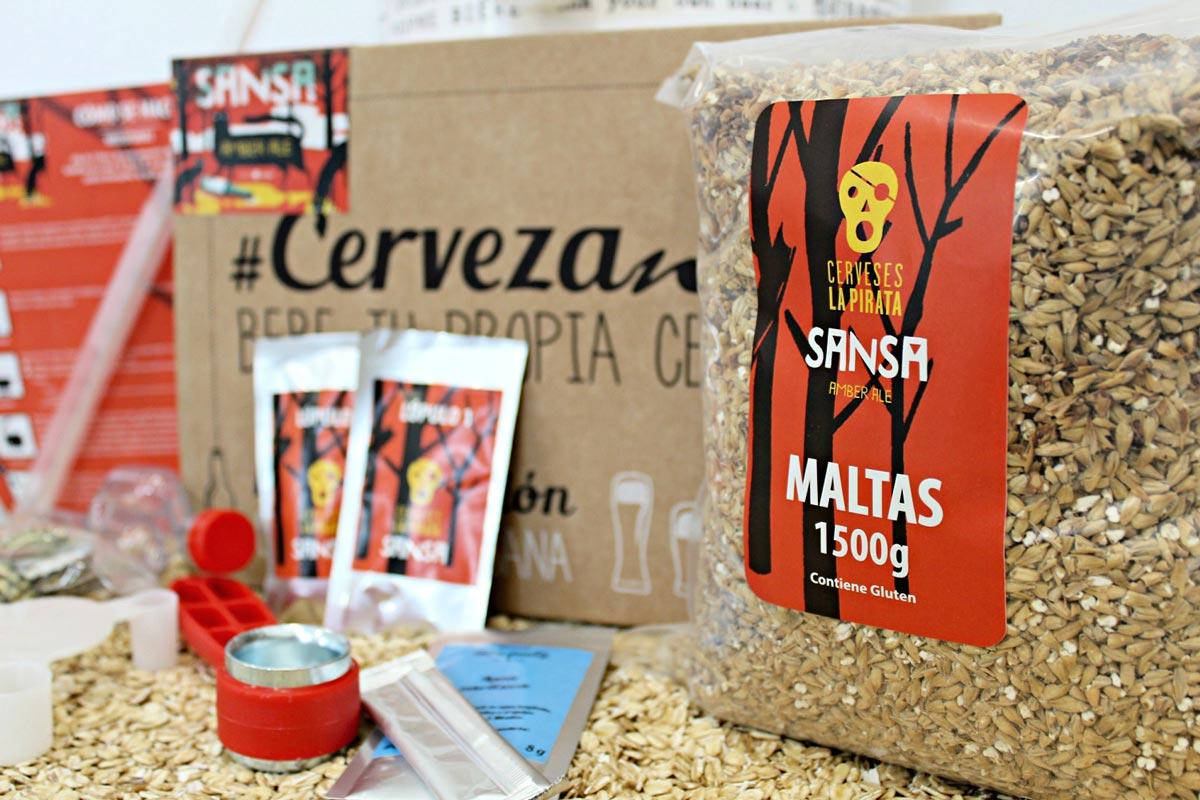 Cervezanía lanza LA PIRATA SANSA Amber Ale (Kit y Recarga) – Loopulo