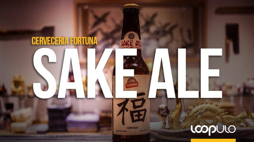 Sake Ale, la cerveza experimental de Cervecería Fortuna – Loopulo