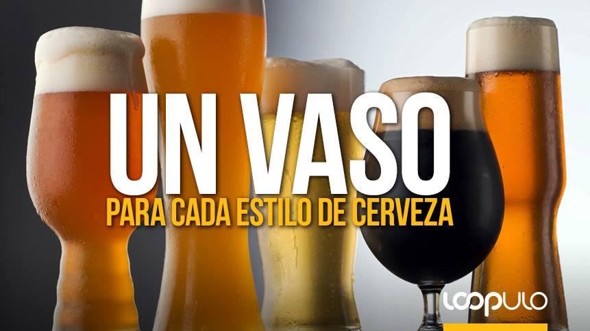 Un vaso para cada estilo de cerveza – Loopulo