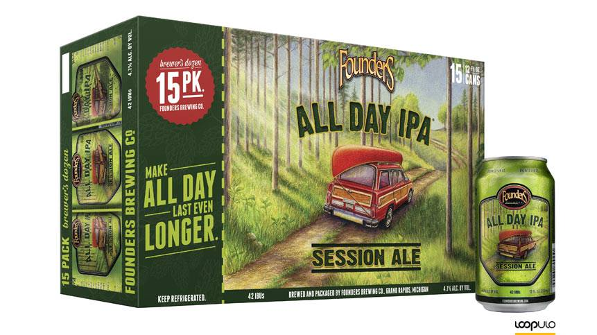 Founders All Day IPA – Loopulo