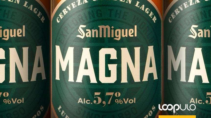 MAGNA Golden Lager, la nueva cerveza de San Miguel – Loopulo