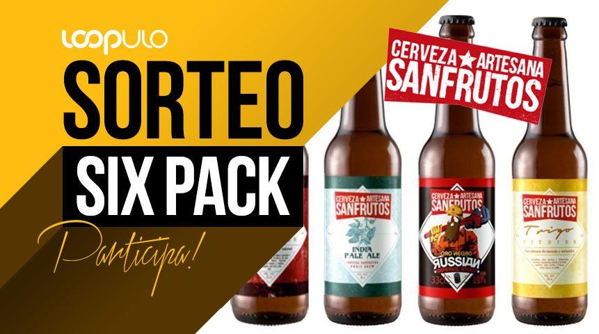 Sorteo de un Six Pack de Cervezas SanFrutos en Facebook