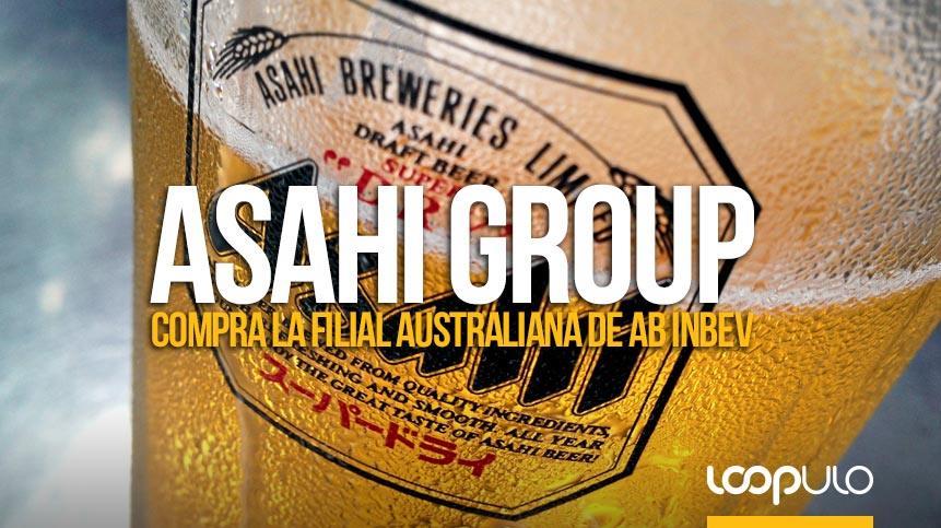 Asahi Group Holdings compra la filial australiana de AB InBev