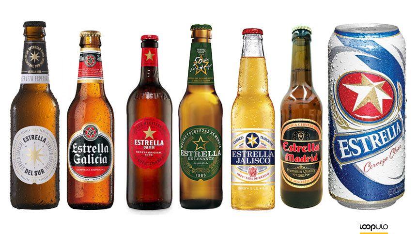 La estrella de las cervezas Estrella – Loopulo