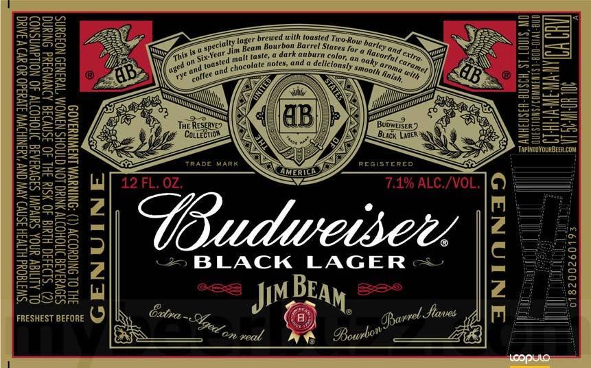 Budweiser Reserve Black Lager, la birra de AB InBev y Jim Beam – Loopulo