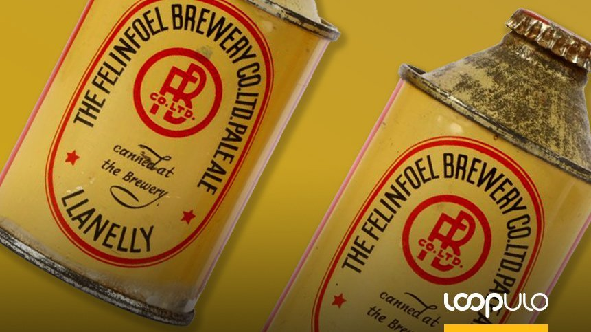 Las históricas latas de cerveza de más de 2.500 euros