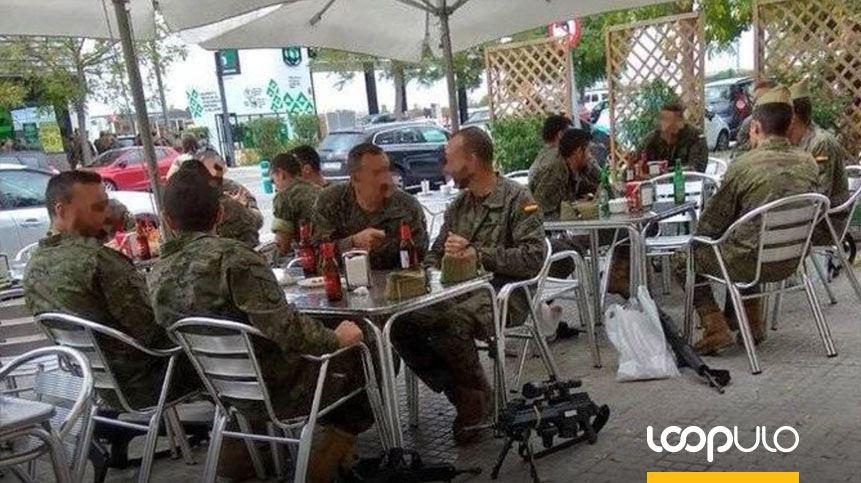 La gran polémica de los legionarios tomando cerveza