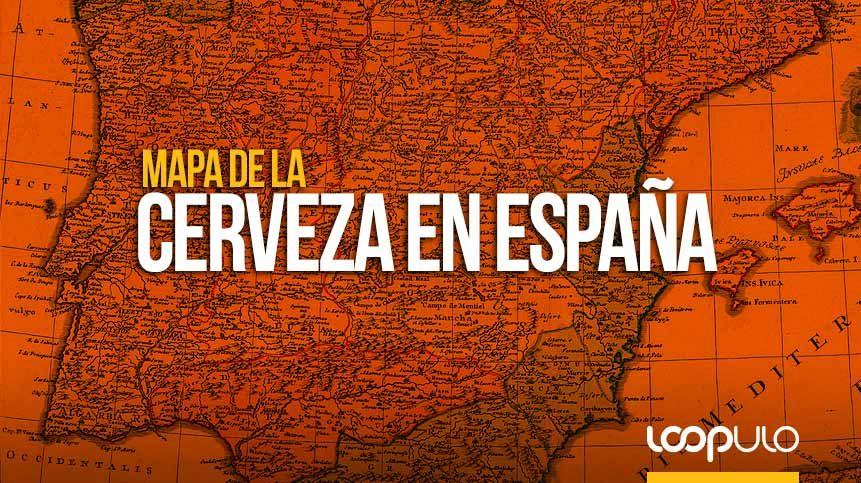 Mapa de la cerveza en España ¿cuál es la cerveza preferida de los españoles? – Loopulo