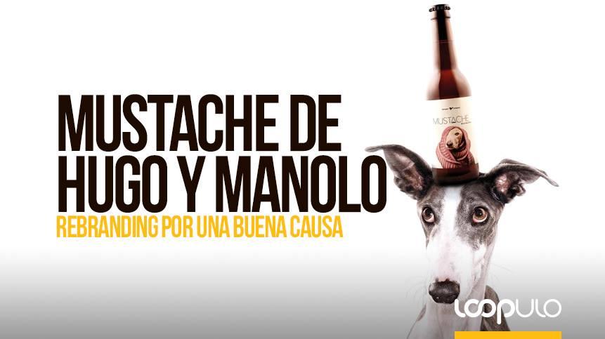 Mustache de Hugo y Manolo, rebranding por una buena causa