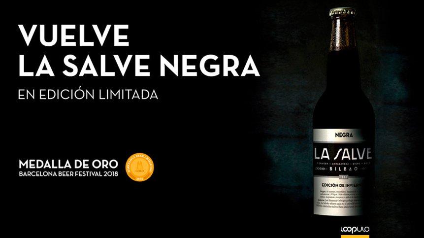 La cerveza negra de LA SALVE, la stout que vuelve por Navidad – Loopulo