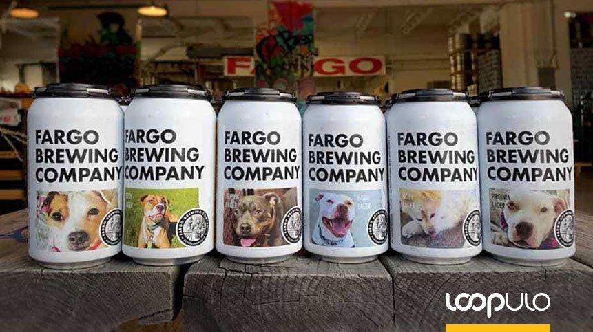 Las latas de Fargo Brewing buscan hogares para perros – Loopulo