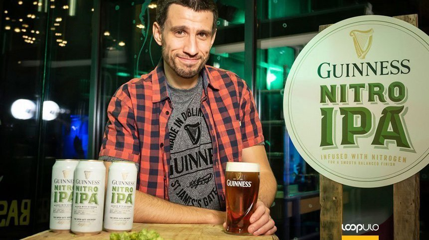 Guinness Nitro IPA de Luis Ortega – Loopulo
