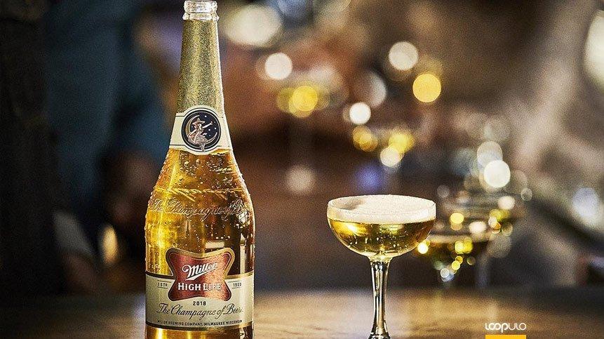 Vuelven las botellas de champán Miller High Life – Loopulo