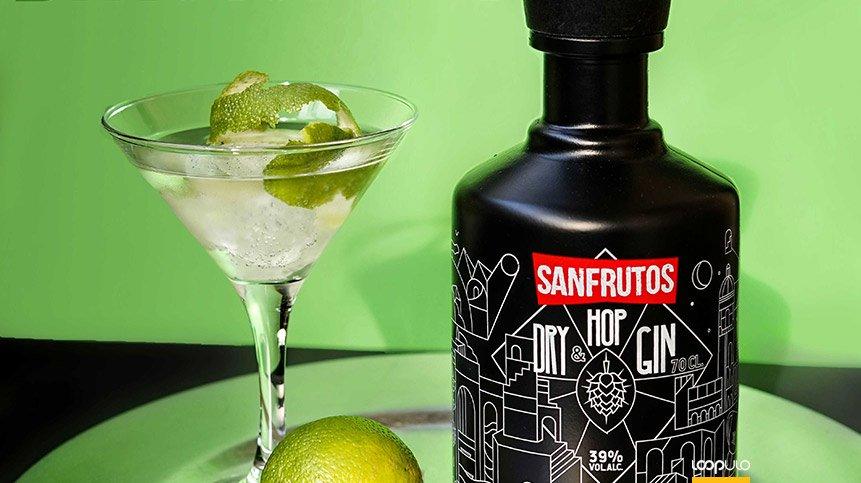 Dry & Hop Gin, una ginebra artesanal hecha con lúpulos Citra – Loopulo