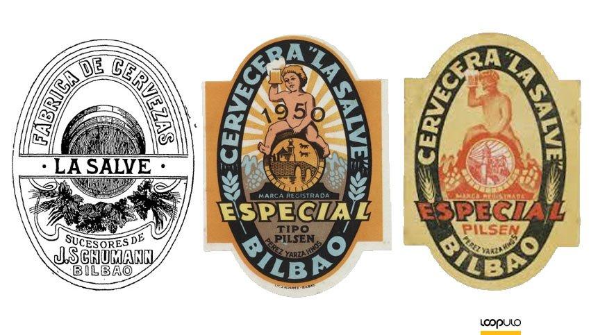 Antiguas cervezas de LA SALVE – Loopulo