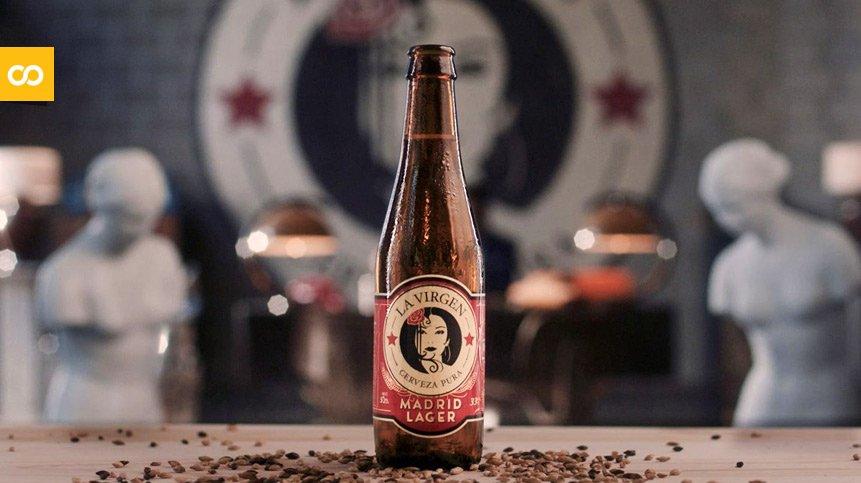 Madrid Lager, de Cervezas La Virgen – Loopulo