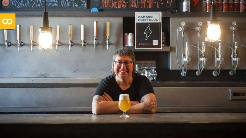Judit Cartex, maestra cervecera de Garage Beer Co y Vicepresidenta de GECAN – Loopulo