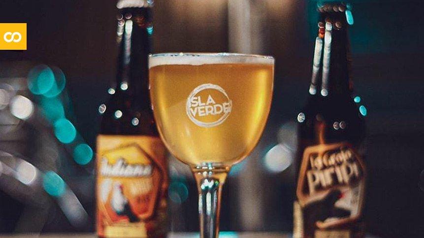 Cerveza artesanal canaria Isla Verde   Loopulo