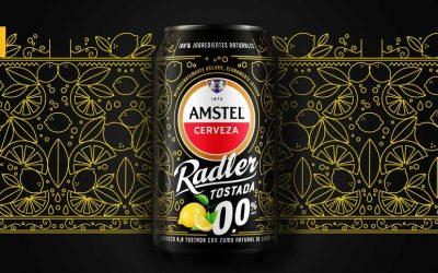 Amstel Radler Tostada 0,0 una apuesta refrescante y sin alcohol para este verano