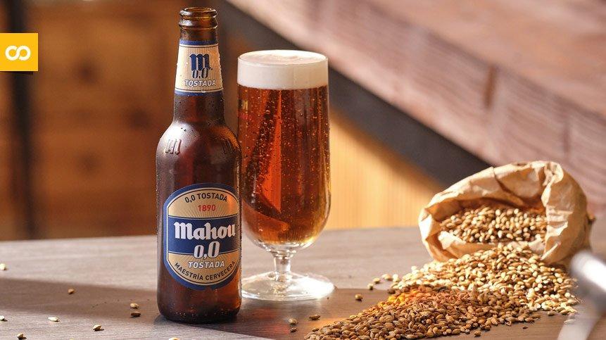 La cerveza sin alcohol Mahou 0,0 Tostada crece a triple dígito – Loopulo