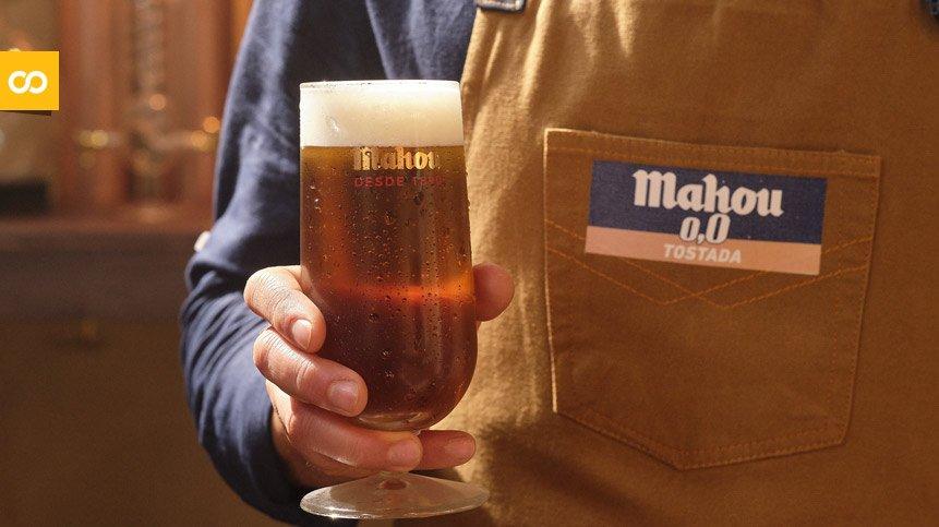 La cerveza sin alcohol Mahou 0,0 Tostada crece a triple dígito