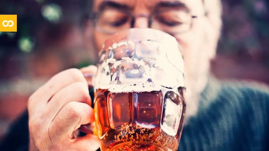 El consumo bajo o moderado de alcohol ayuda a mantener el cerebro más jóven - Loopulo