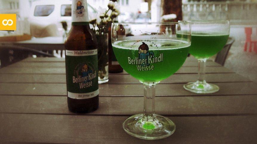 Berliner Kindl Weisse Original, de Berliner Kindl Schultheiss Brauerei   Loopulo