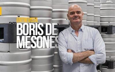 Boris de Mesones: «Ni nuestro posicionamiento ni nuestra cerveza es low cost. Tenemos un solo producto, en un formato, y un único canal»