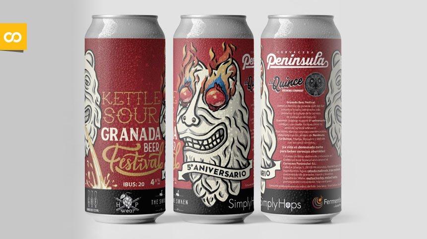 Granada Beer Festival pospone su quinto aniversario hasta 2021   Loopulo