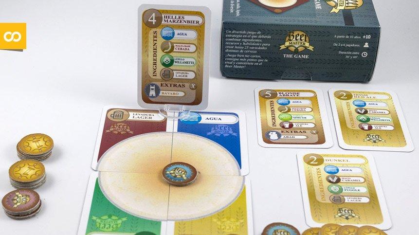Beer Master, un juego de mesa inspirado en la elaboración cervecera - Loopulo