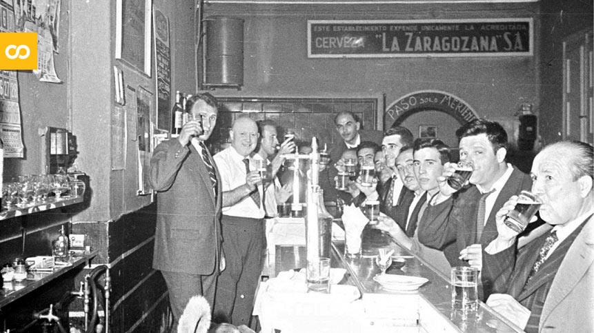 Establecimiento que expende únicamente cervezas La Zaragozana   Loopulo