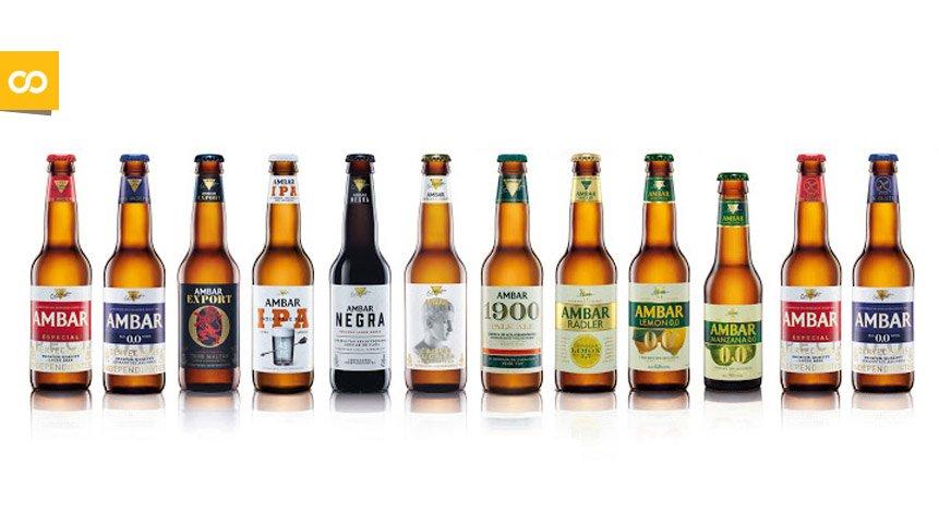 Variedades de cervezas Ambar   Loopulo