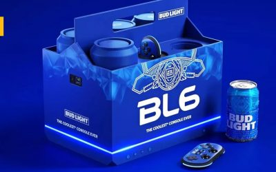 BL6, la consola de Bud Light que además te enfría las cervezas