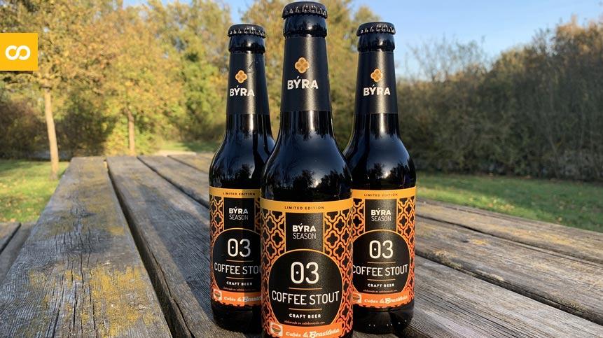 BÝRA lanza al mercado una nueva cerveza de café de edición limitada | Loopulo