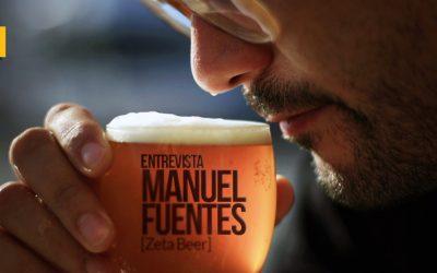 Manuel Fuentes: «Falta presencia de cervezas 'sin' de calidad y variedad. Cuando la haya, habrá cultura»