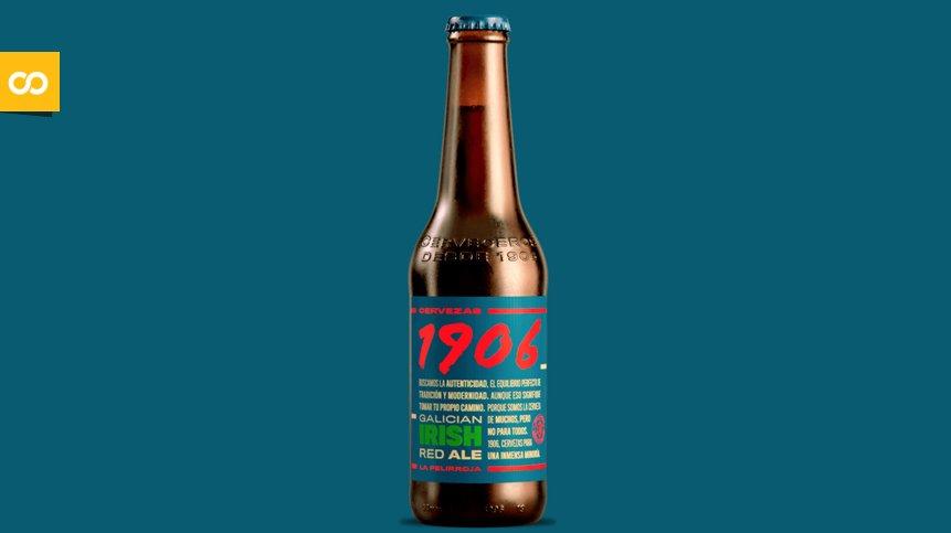 1906 Galician Irish Red Ale, La Pelirroja de Hijos de Rivera   Loopulo