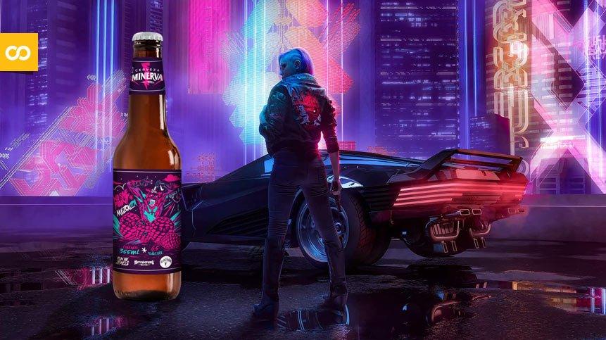 Minerva celebra el lanzamiento de Cyberpunk 2077 con una Mezcal IPA - Loopulo