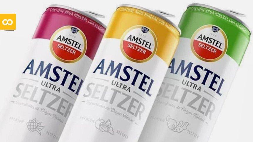 Amstel Ultra Seltzer, la Hard Seltzer de Heineken México - Loopulo