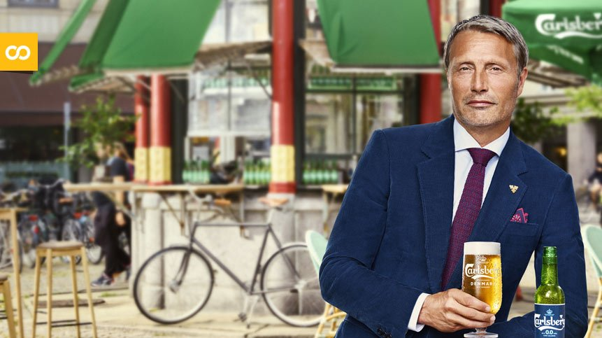 Mads Mikkelsen protagoniza el nuevo spot de la Carlsberg 0.0 | Loopulo