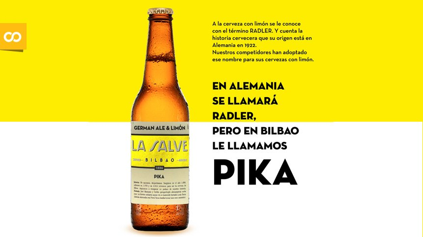 LA SALVE Pika, una mezcla tradicional de cerveza con limón natural exprimido | Loopulo