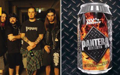 La banda metal Pantera lanza una Golden Ale junto a Texas Ale Project