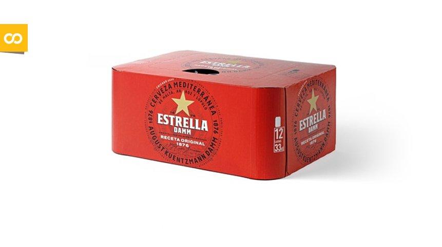 Estrella Damm elimina los plásticos que envuelven los packs de latas | Loopulo
