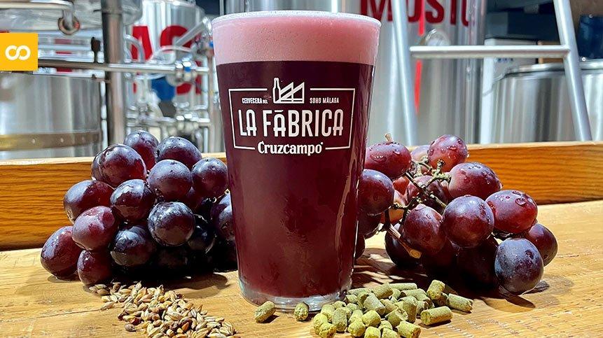 Cruzcampo Grape Beer, la nueva cerveza de La Fábrica de Málaga | Loopulo