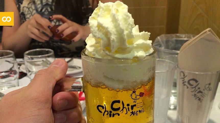Cerveza con nata, la tendencia que nos llega desde Corea y Japón   Loopulo