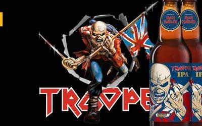 Trooper IPA de Iron Maiden aterriza en Estados Unidos